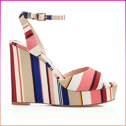 kate spade new york サンダル・ミュール 【国内発送】DELLIE WEDGES SANDALSセール(3)