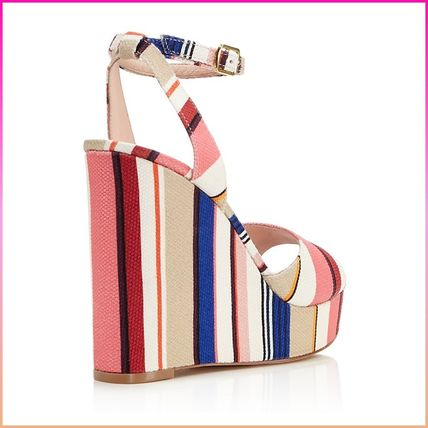 kate spade new york サンダル・ミュール 【国内発送】DELLIE WEDGES SANDALSセール(4)