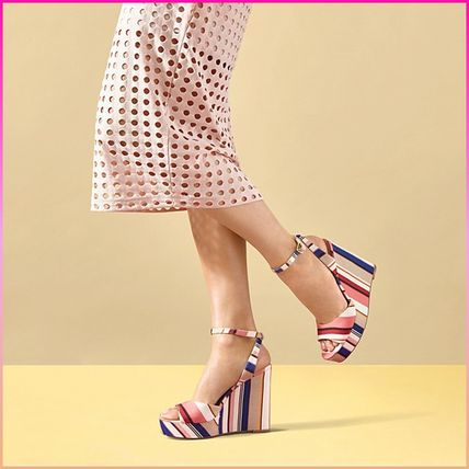 kate spade new york サンダル・ミュール 【国内発送】DELLIE WEDGES SANDALSセール(5)