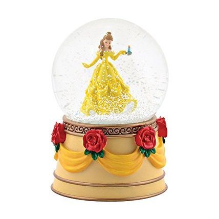Snow Globes Disney beauty and the beast Belle Department 56