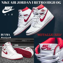 国内発送 NIKE AIR JORDAN 1 Retro High OG Metallic Red 復刻★