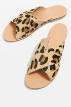 《スーパーフラット♪》☆TOPSHOP☆HOLIDAY Leopard Sandals