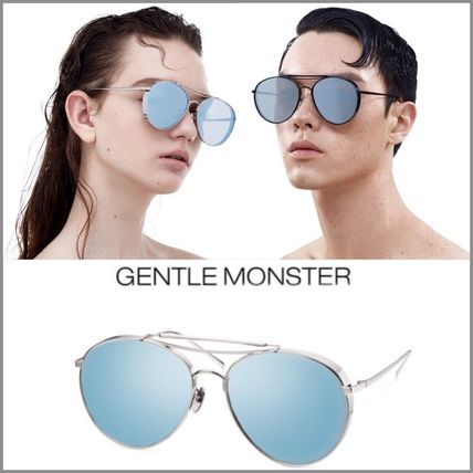 日本未入荷 {{GENTLE MONSTER}} GD愛用 17SS★BIG BULLY 02(11M)