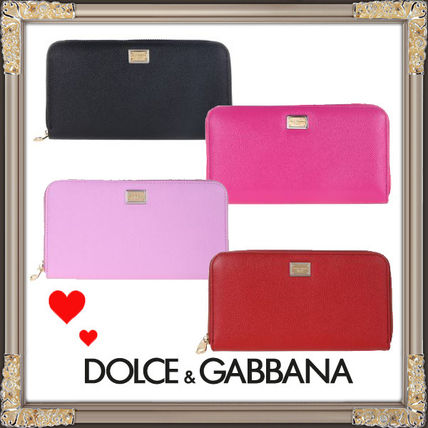 18 SS Dolce & Gabbana zip around wallet