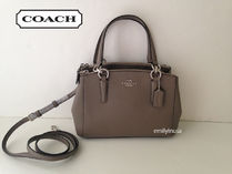 完売色+即発 COACH★MINI CHRISTIE 2way F57523*FOG