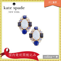 セレブ愛用者多数☆kate spade new york☆Blue Cluster Earrings