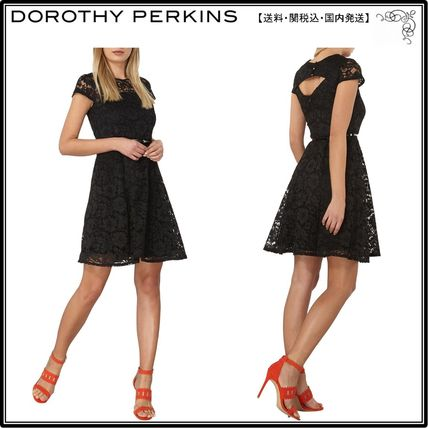【UK発】Dorothy Perkins人気ワンピ☆Lace Fit And Flare Dress