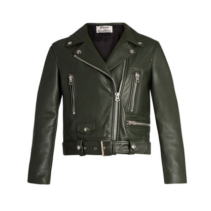 Acne Mock leather by car jacket Womens