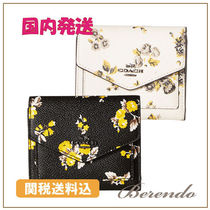 国内発送◆COACH Prairie Print Small Wallet 2色有