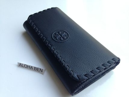 Tory Burch  MARION ENVELOPE CONTINENTAL WALLET Black 即発送