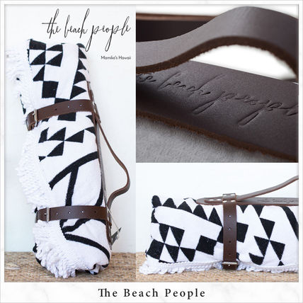 popular round beach towel for leather strap