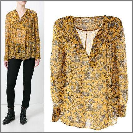 17th SS ISABEL MARANT Boden silk blouse