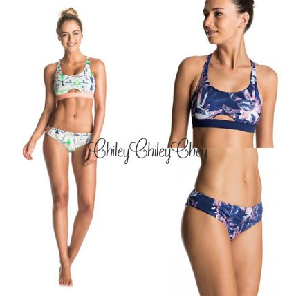 【ROXY】Keep It Roxy Sporty Bra Bikini/ビキニセット