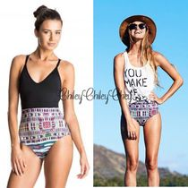 【ROXY】Cuba Cuba Strappy One Piece Swimsuit/ワンピース水着