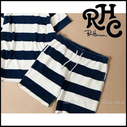 17th SS RHC Ron Herman Indigo Pile stipes shorts