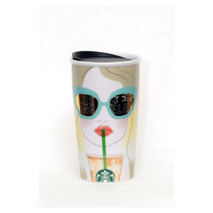 Starbucks LA Los Angeles DW ceramic mug