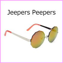 Jeepers Peepers(ジーパーズ ピーパーズ) サングラス 関税送料込みJeepers Peepers☆オレンジレボレンズサングラス♪