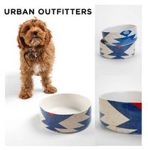 Urban Outfitters(アーバンアウトフィッターズ) フードボウル・えさ関連  Urban Outfitters☆ DENY Diamond Kilim Pet Bowl Set☆