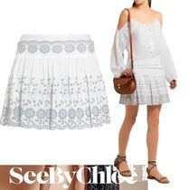 ☆See by Chloe☆Broderie anglaiseコットンミニスカート☆SALE