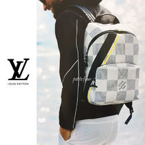 Louis Vuitton*2017SS*雑誌掲載*V アポロ バックパック/アズール