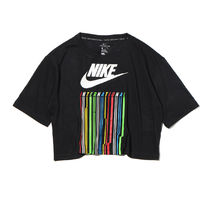 国内配送 NIKE W INTERNATIONAL TEE TBL CROP DRIP