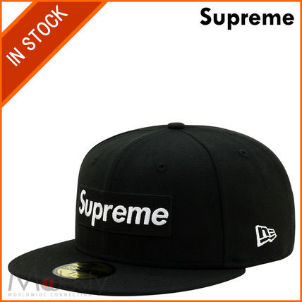 This SUPREME PLAYBOY BOX LOGO NEW ERA black 7 1 / 4