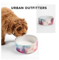 Urban Outfitters(アーバンアウトフィッターズ) フードボウル・えさ関連  Urban Outfitters☆DENY Yin-Tang Painted Clouds Pet Bowl Set