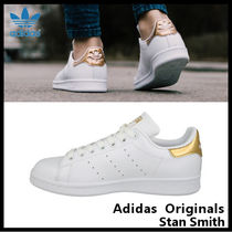 【adidas Originals】STAN SMITH W GOLD LOGO BB5155