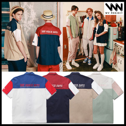 Korea's popular WV PROJECT HALF 1 / 2 SLEEVE SHIRTS