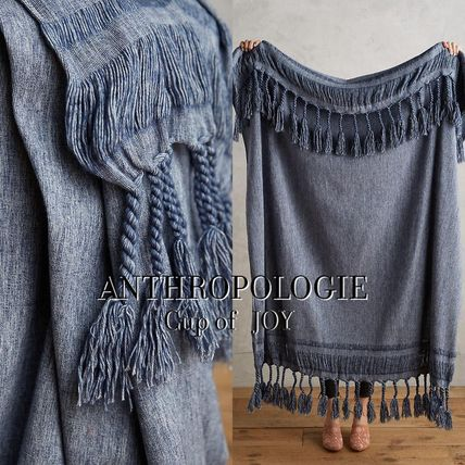 Snazzy blanket Roped Fringe Throw Blanket