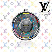 2017SS《Louis Vuitton》ESCALE TIME ZONE TABLE CLOCK 65★時計