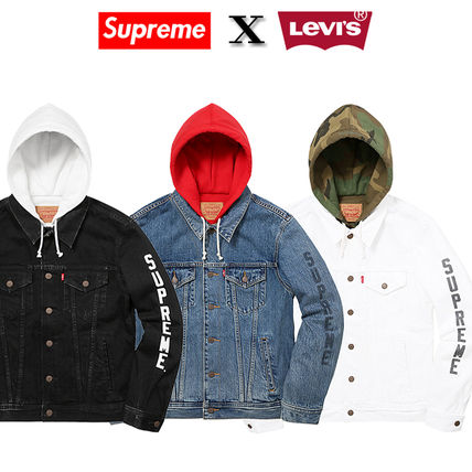 12 weeks17 Supreme X LEVIS trucker jacket