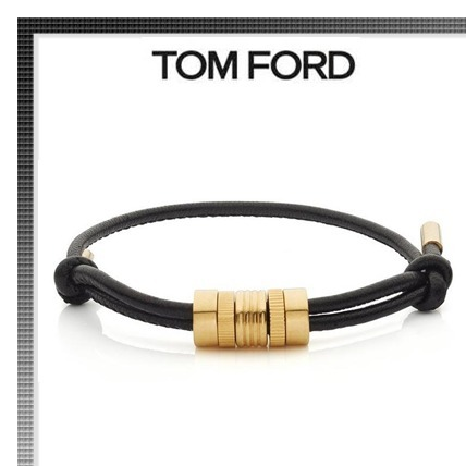 ★雑誌掲載★TOMFORD MULTI RING LEATHER BRACELET
