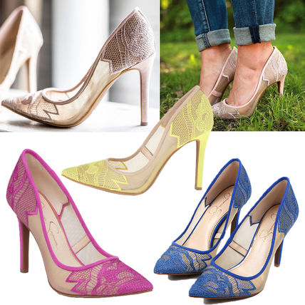 SALE Jessica Simpson Lacey pointed toe pumps