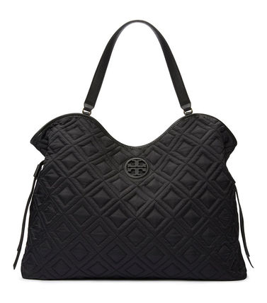 Tory Burch マザーズバッグ 国内入荷済み☆Tory Burch Quilted Slouchy Baby マザーバッグ(2)