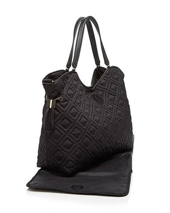 Tory Burch マザーズバッグ 国内入荷済み☆Tory Burch Quilted Slouchy Baby マザーバッグ(5)