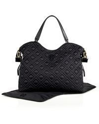 Tory Burch マザーズバッグ 国内入荷済み☆Tory Burch Quilted Slouchy Baby マザーバッグ(9)