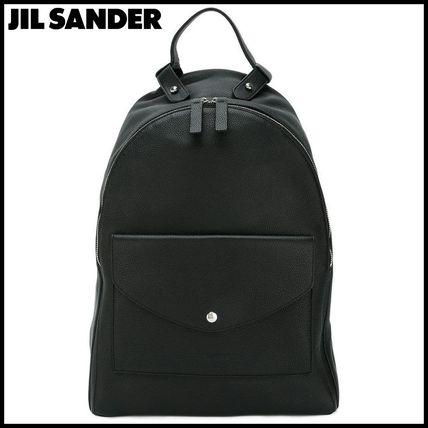 Jil Sander patch pocket backpack