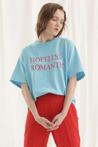 ANOTHER A(アナザーエー) Tシャツ・カットソー Hopeless romantic t-shirt★ANOTHER A★国内発送