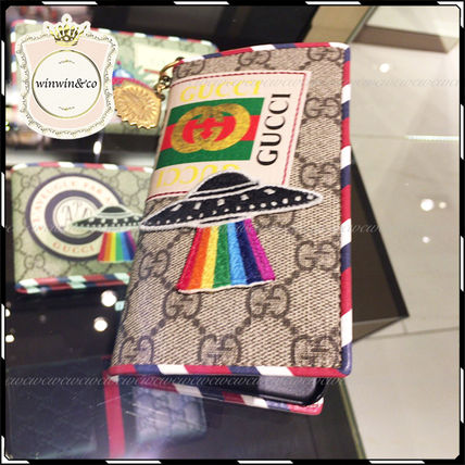 GUCCI iPhone・スマホケース 国内発送★2017SS GUCCI グッチ クーリエ iphone7ケース(2)