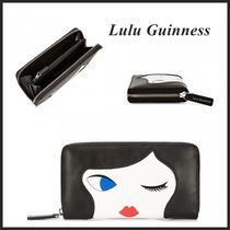 ☆2017春夏新作☆【Lulu Guinness】Doll Face♪長財布
