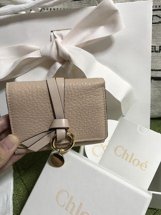 popular Chloe alphabetical compact wallet sold out front