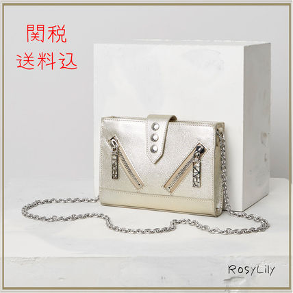 And Silver Kalifornia chain wallet