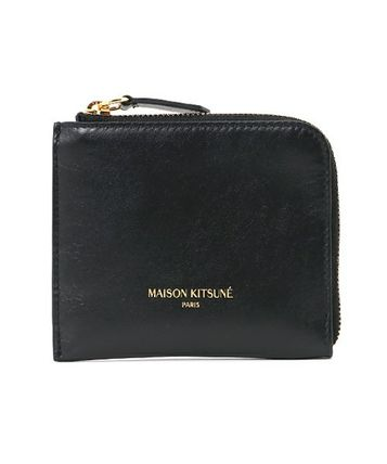 Immediate delivery MAISON KITSUNE 17SS COIN PURSE LEATHER