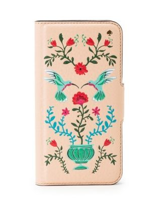 【国内発送】kate spade★Hummingbird Folio iPhone7 Case
