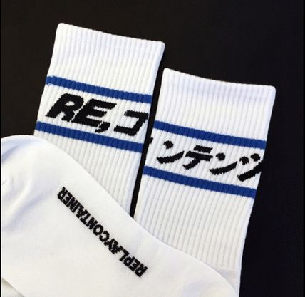 [REPLAYCONTAINER] BLUE LINE SOCKS