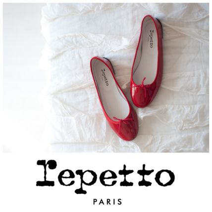 Repetto France from Cendrillon classic patent red