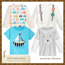 FIRST IMPRESSIONS(ファーストインプレッション) ベビー用トップス プチプラ♪アメリカ発! FIRST IMPRESSIONS Tシャツ4枚セット