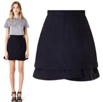 CARVEN★Draped Skirt