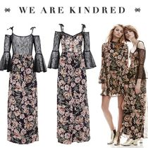 WE ARE KINDRED(ウィーアーキンドレッド) ワンピース 17新作【WE ARE KINDRED】フェミニンオフショルマキシワンピース